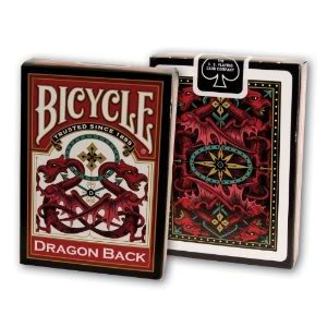 Toy / Game Bicycle Celtic Dragon Back Playing Cards with standard poker-sized deck – Made in the U.S.A.