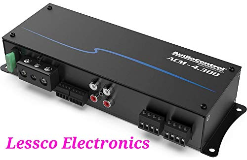 AudioControl ACM-4.300 ACM Series Compact 4-channel Car Amplifier 50 watts RMS x 4 at 4 ohms (300 watts RMS total)