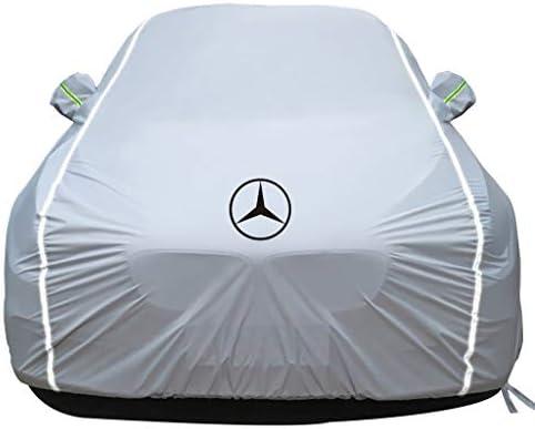 メルセデス・ベンツGLE/GLEクーペ防水Snowproof防風断熱フルカバレッジカーカバーと互換性がオールウェザーカーカバー (Color : White, Model : GLE)