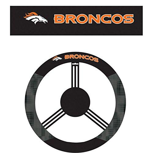Denver Broncos Steering Wheel Cover - 5