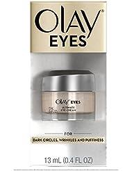 Olay Eyes Ultimate Eye Cream for Wrinkles, Puffy Eyes and Under Eye Dark Circles, 0.4 Fl Oz