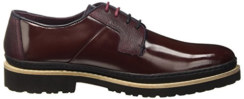 Ted Baker Oktibr - Zapatos Hombre Dark Red Leather