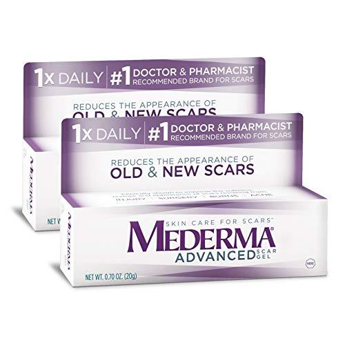 Mederma Advanced Scar Gel, 0.7 Ounce, Pack of 2 (At Skin Mederma Care)