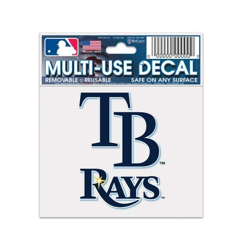 Wincraft Tampa Bay Rays Multi-Use Decal 3