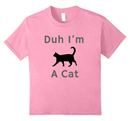 Quick And Easy Halloween Costumes For Boys (Kids Duh, I'm a Cat shirt - easy halloween costume. Black cat T 10 Pink)