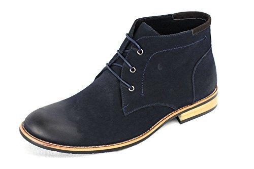 JAS - Botas Chelsea hombre azul marino