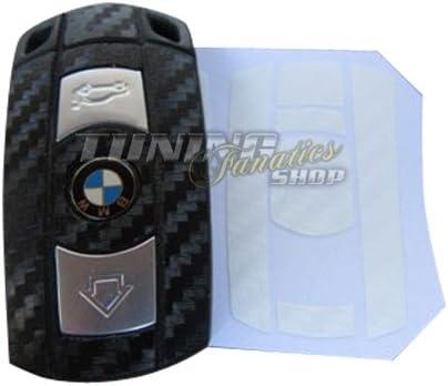 Schlüssel Carbon Design Dekor Folie Aufkleber Sticker In Weiss Auto