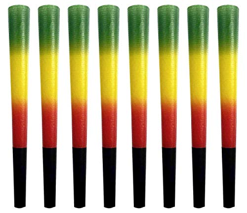 Elephant Rolling Papers, Rasta Pre-Rolled Cones 8 Pack