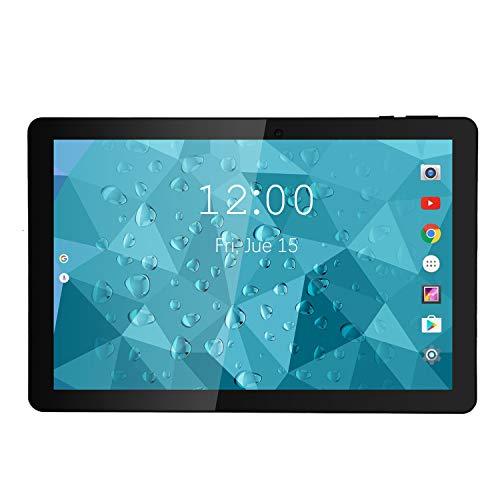 Winnovo VTab Tablet 10.1 Inch Android WiFi 2GB RAM - 16GB ROM Quad Core GPS 1280x800 IPS Touchscreen 2MP+5MP Camera 6600mAh Battery Google Certified (Grey)