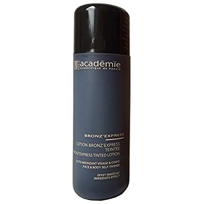 Academie BRONZ 'express Unisex, Tinted Loción Face And Body Self de Tanner, 1er Pack (1 x 50 g)