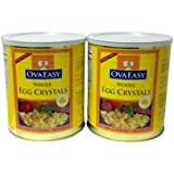 OvaEasy Powdered Whole Egg #10 Cans (2 x 1.67 lb cans)