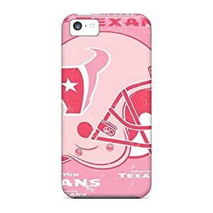 High Quality Phone Cover For Apple Iphone 5c With Provide Private Custom Lifelike Houston Texans Image KimberleyBoyes