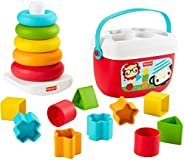 Fisher-Price Baby's First Blocks & Rock-a-Stack, Plant-Ba