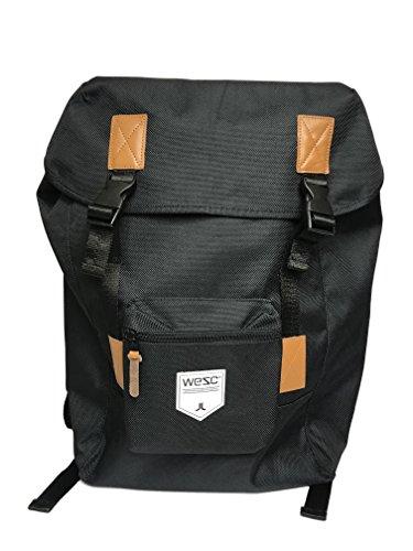 WeSC Mens Rhody Laptop Backpack Black