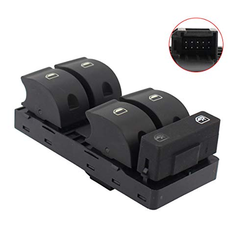 NewYall Front Left Driver Side Electric Power Window Master Control Switch ()
