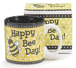 Bumble Bee Mug - Burton and Burton 9727328 Burton-9727328 Mug, 4