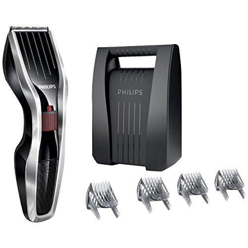 Philips HAIRCLIPPER Series 5000 HC5440/83 cortadora de pelo y maquinilla Negro, Plata Recargable - Afeitadora (Negro, Plata,...