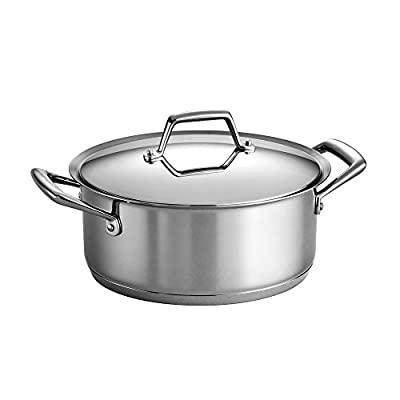 Tramontina Gourmet Prima Tri-Ply Base Covered Dutch Oven