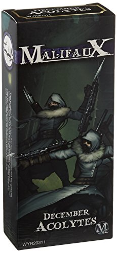Wyrd Miniatures Malifaux Arcanists December Acolyte Model Kit (3 Pack) December Kit
