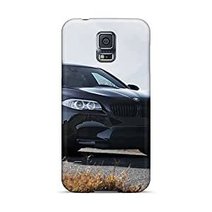 S5 Scratch-proof Protection Case Cover For Galaxy/ Hot Bmw M5 F10 Black Phone Case
