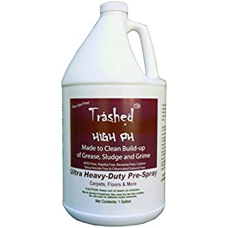 Trashed High pH Carpet Cleaning Heavy Duty Pre-Spray