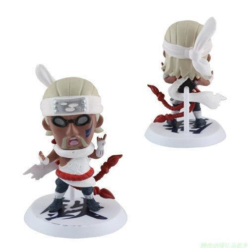 SunSlight 6PCS/LOT Q Edition Anime Naruto Figure Set Collection PVC Action Figures Naruto Brinquedos Model Kids Toys Doll