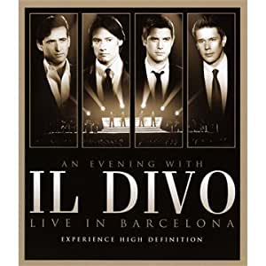 Il divo an evening with il divo live in barcelona blu ray by sony movies tv - Il divo amazon ...