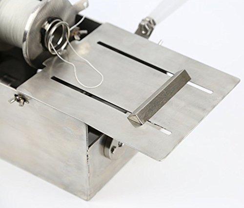 Handle Stainless steel sausage tying knotting machine sausage casings binding machine smoked sausage knot machin sausage linker machine (Max. Sausage diameter: 0-32mm) by CGOLDENWALL (Image #8)