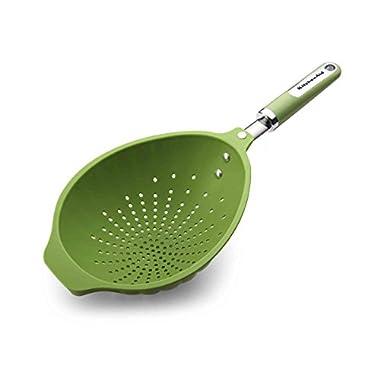 KitchenAid Pasta Scoop Colander, Green Apple