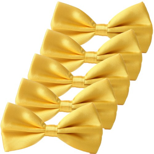 yellow bow ties - 1