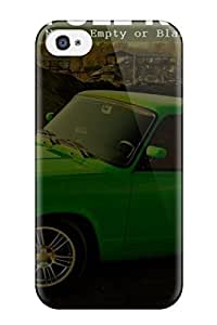 Cute Michael Volpe Cool Green Vintage Car Wide Screen Desktop Case Cover For Iphone 4/4s