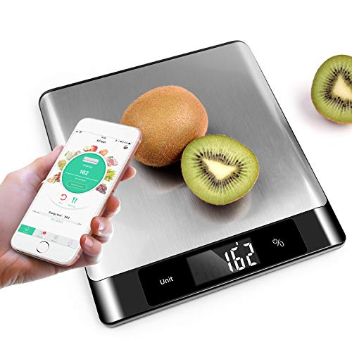 【UPGRADE】Food Scale MOCREO Digital Nutrition Scale Professional Food And Nutrient Calculator, Food Composition Analyzer Through App