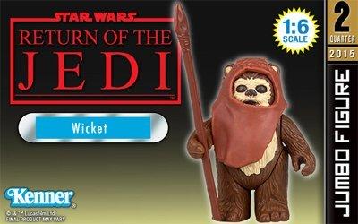 Star Wars Return of the Jedi Wicket Jumbo Kenner Action Figure