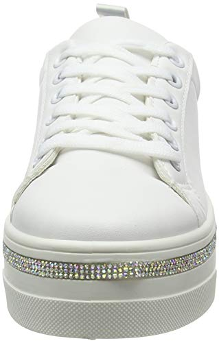 Mositive Sneaker Look White Donna New white 10 ECqw5wFP