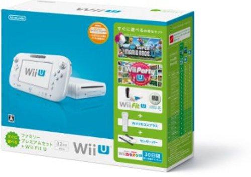 Wii U すぐに遊べるファミリープレミアムセット+Wii Fit U(シロ)