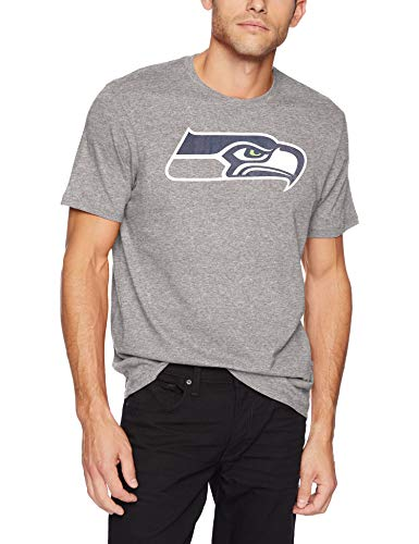 OTS NFL Seattle Seahawks Male NFL Rival Tee, Slate Grey, X-Large