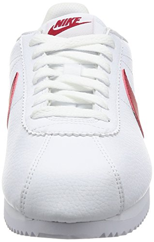 varsity varsity 154 Cortez Leather Red Classic Biancowhite Nike Royal mwynNO0Pv8