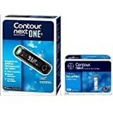 Contour Next Test Strips 100's with Contour Next One Glucometer