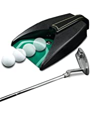 JEF WORLD OF GOLF Unisex-Adult Automatic Putting Cup JR90, Black
