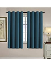 Blackout Curtain for Living Room Thermal Insulated Light Blocking Room Darkening Grommet Curtain Drapes