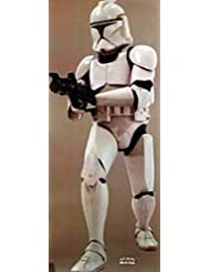 Star Wars Episode 11 - Attack Of The Clones 73X30 Clone Trooper Movie Poster