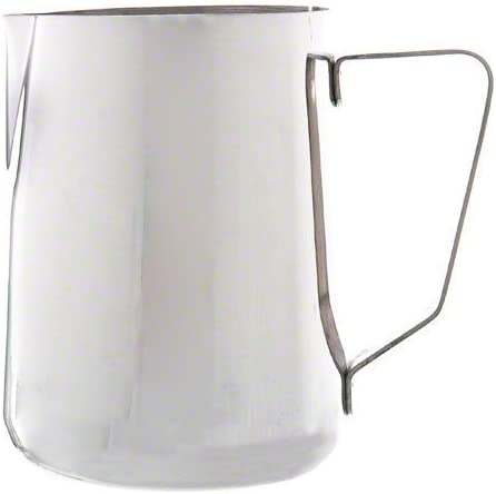 Steaming Frothing Pitcher - Set of 3 Stainless Steel Ounce 18//10 Gauge New Large 50 oz. Espresso Coffee Milk Frothing Pitcher