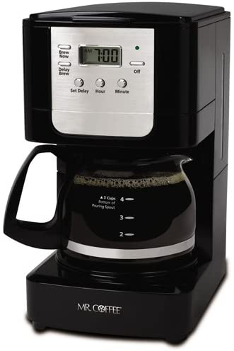 MR. COFFEE ADVANCED BREW 5-CUP PROGRAMMABLE COFFEE MAKER