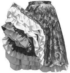 1840 - 1890 de can-can Falda Patrón: Amazon.es: Juguetes y juegos