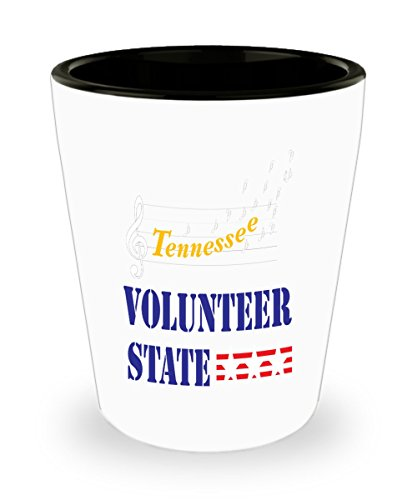 Tennessee Volunteer State Shot Glass Gift