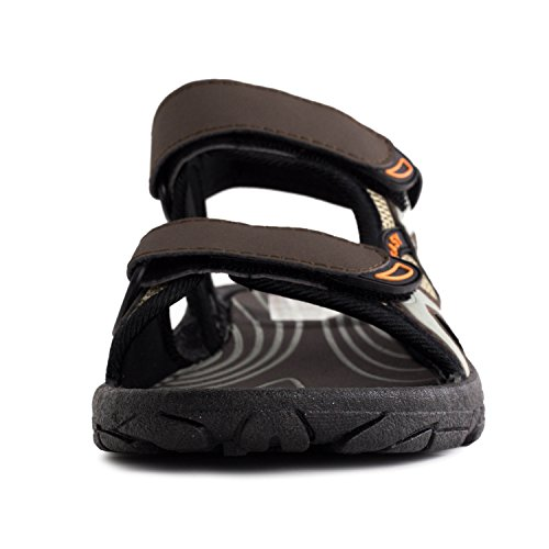 Sandal Closure Hook Adjustable Mens and and Closure Loop Hook Adjustable Loop Mens Brown Adults qfwFtaxP