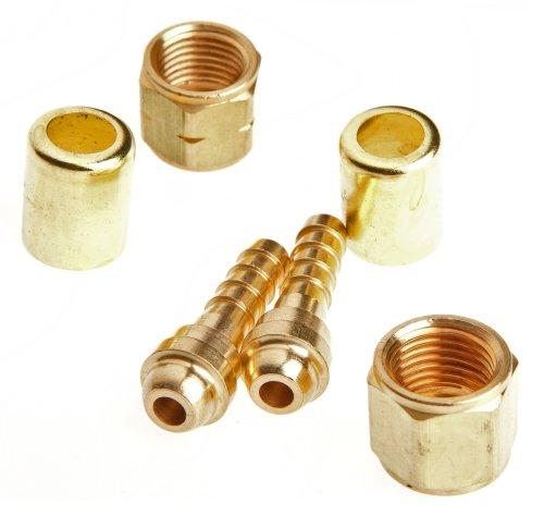 Kit Repair Fuel Regulator (Forney 60326 Hose Repair Kit, Oxygen Acetylene, 1/4-Inch )