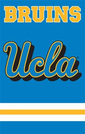(The Party Animal Sports Fan NCAA Team UCLA Bruins Applique Nylon Banner Flag )