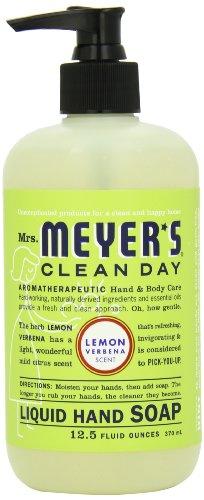 Mrs. Meyer's Clean Day Liquid Hand Soap, Lemon Verbena, 12.5 Fluid Ounce Bottles (Case of 6), Health Care Stuffs