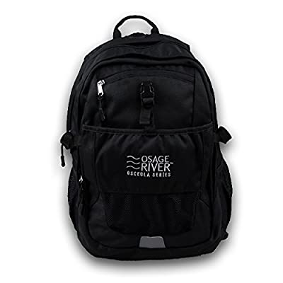Osage River Osceola Series Laptop School Backpack Camping Rucksack Hiking Daypack - Lifetime Warranty ...